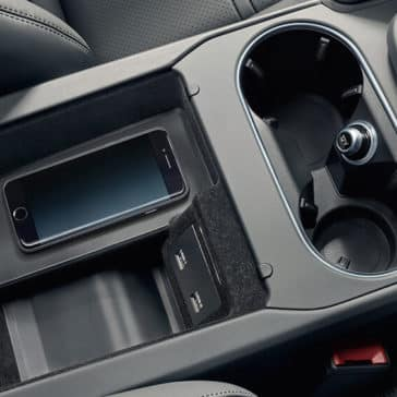 2018 Porsche Cayenne Center Console with Phone Charging