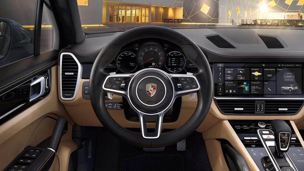 2018 Porsche Cayenne Steering Wheel Features