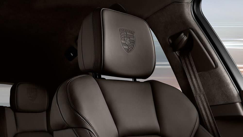 2018 Porsche Macan Interior Seating Closeup