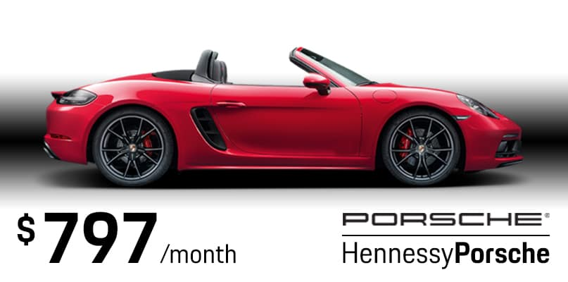 718 Boxster Lease Special