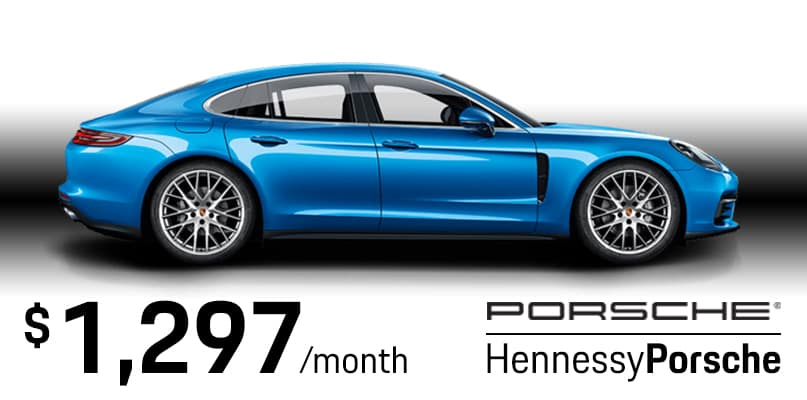 2018 Panamera 4S Lease Special
