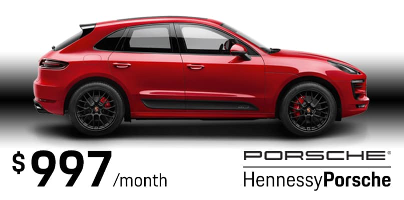 2018 Macan Sport Edition Lease