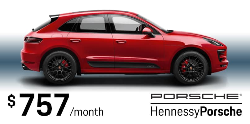 Macan SE Lease Special