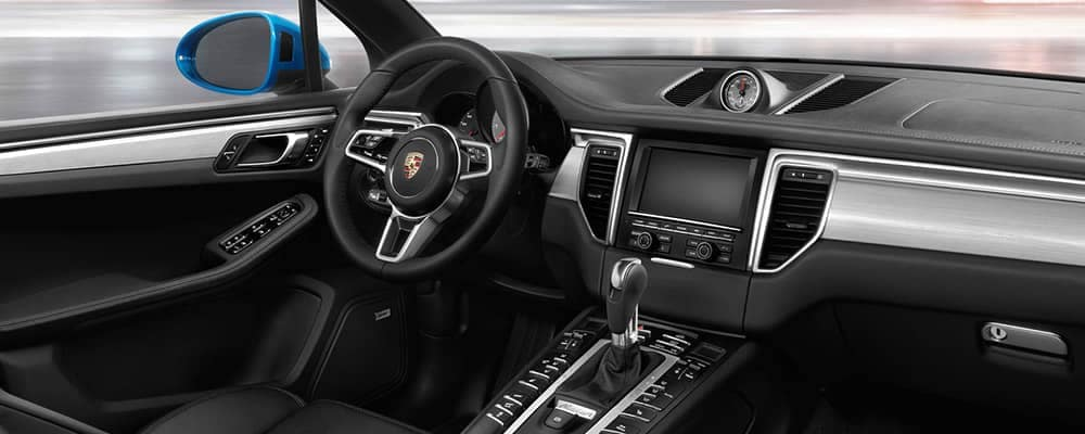2018 Porsche Macan Interior Dashboard