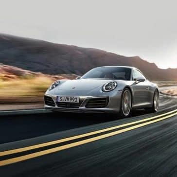 2019 Porsche 911 Driving