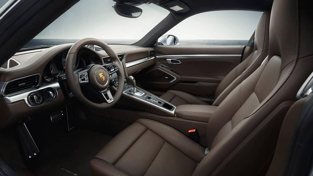 2019 Porsche 911 Interior Seating and Dashboard