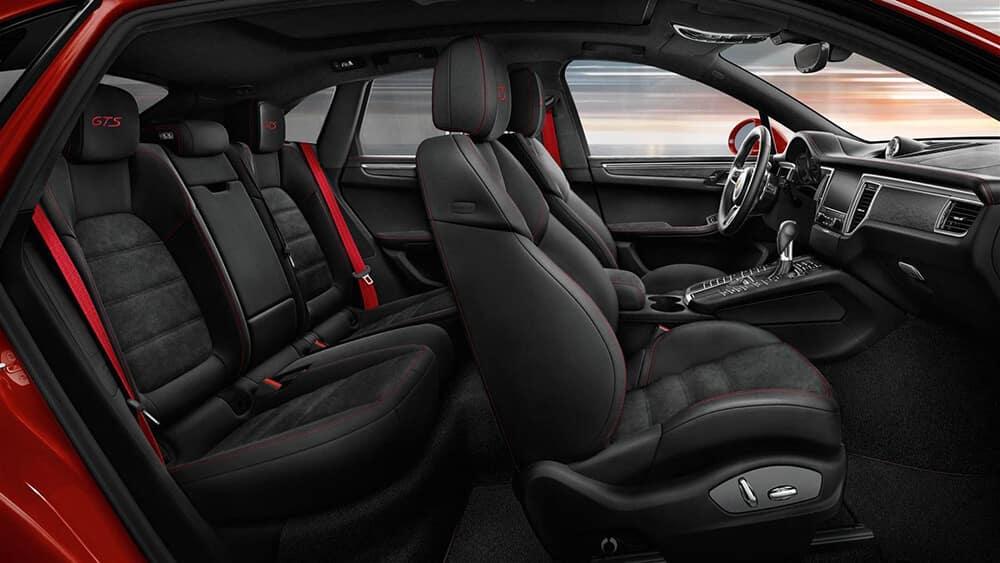2019 Porsche Macan Seating
