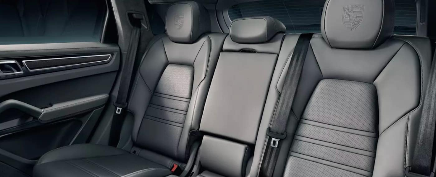 2019 Porsche Macan interior rear leather seats