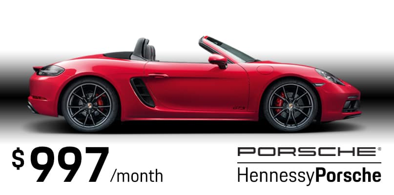 2019 Boxster S Lease Special