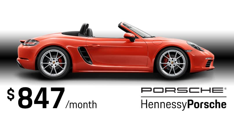 2019 Boxster Lease Special