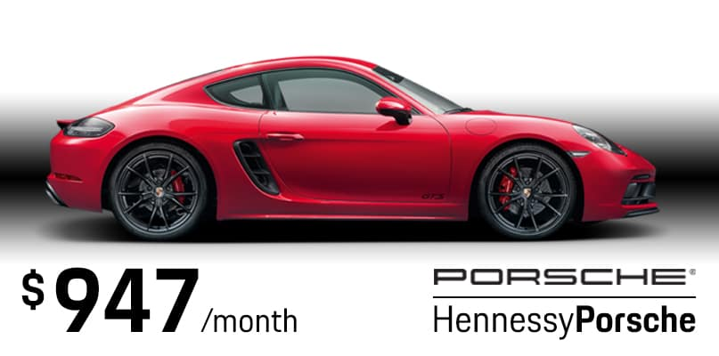 2019 Cayman S Lease Special