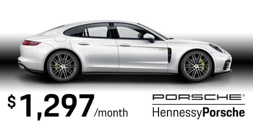 2020 Panamera E-Hybrid Lease Special