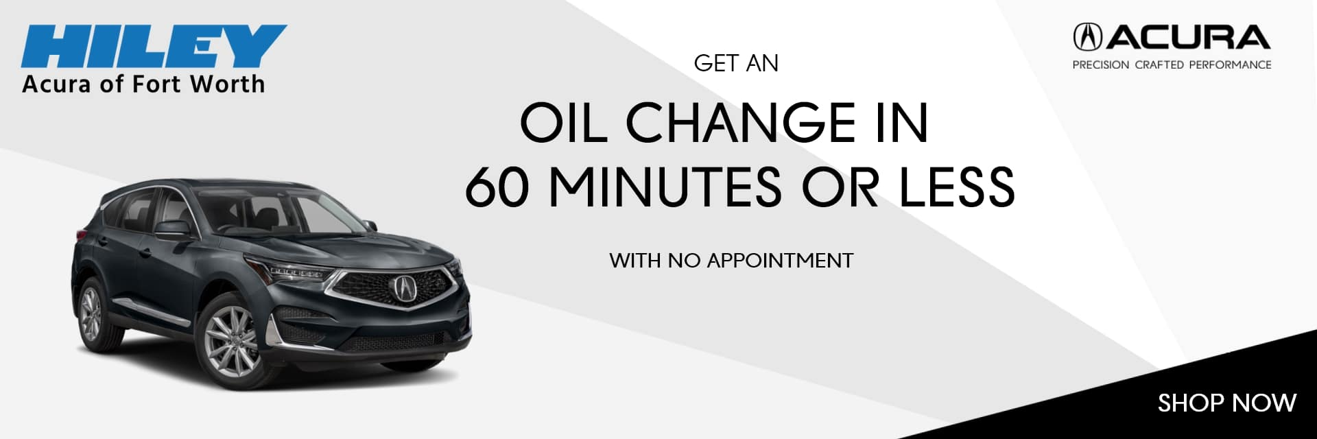 Oil Change in 60 Minutes or Less