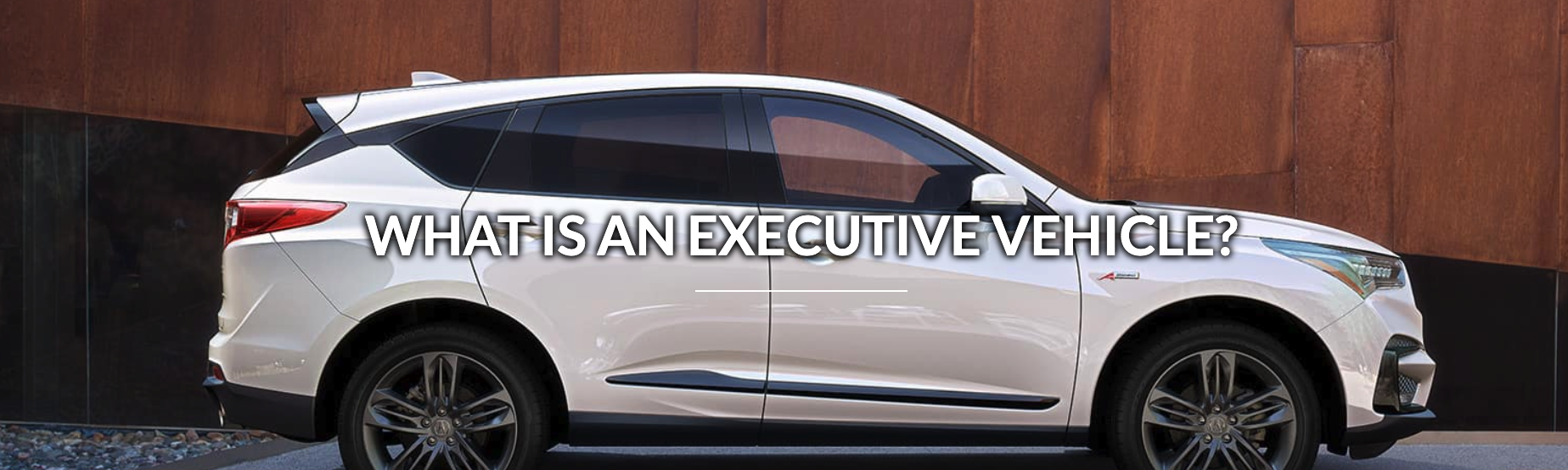 Why Buy a Hiley Acura Executive Demo Vehicles