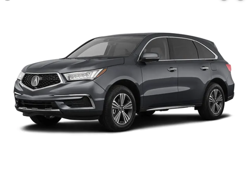 2020 Acura MDX 9 Speed Automatic SH-AWD Featured Lease