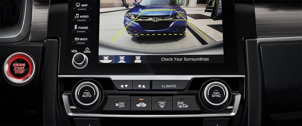 2019 Honda Civic Rearview Camera