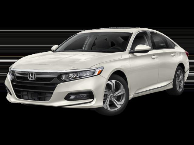 Off-white 2019 Honda Accord EX