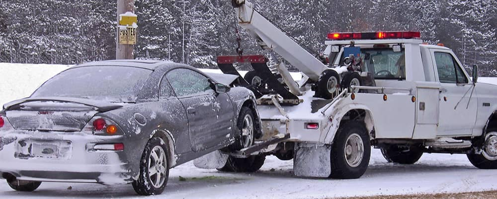 Tow Truck at work