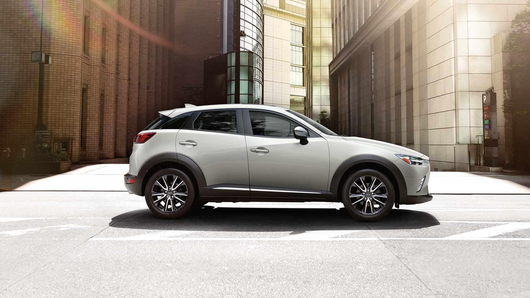 Mazda CX3 White