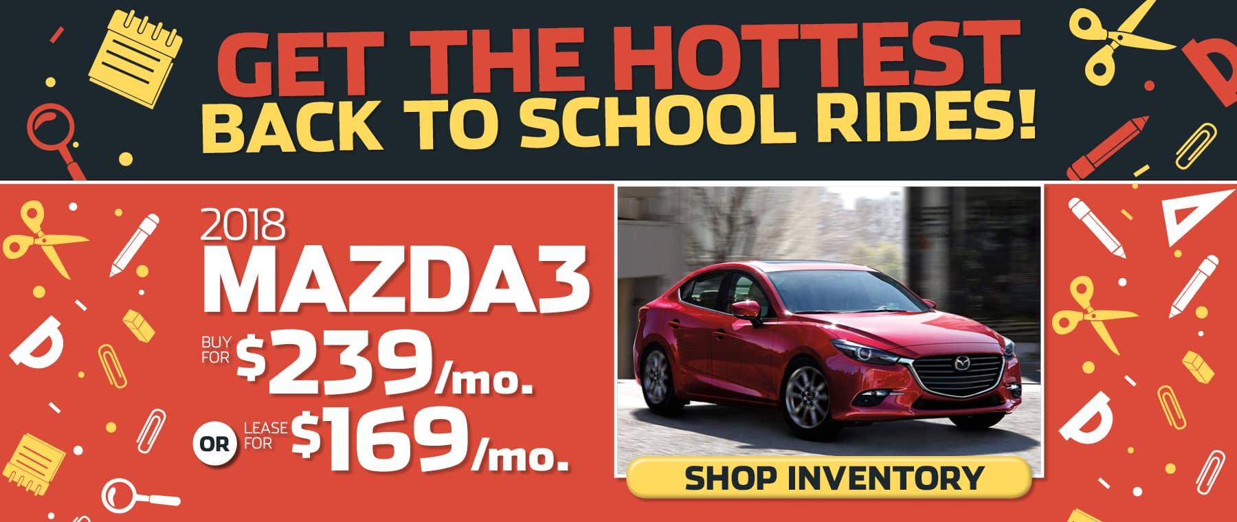 Mazda3 Banner 2018
