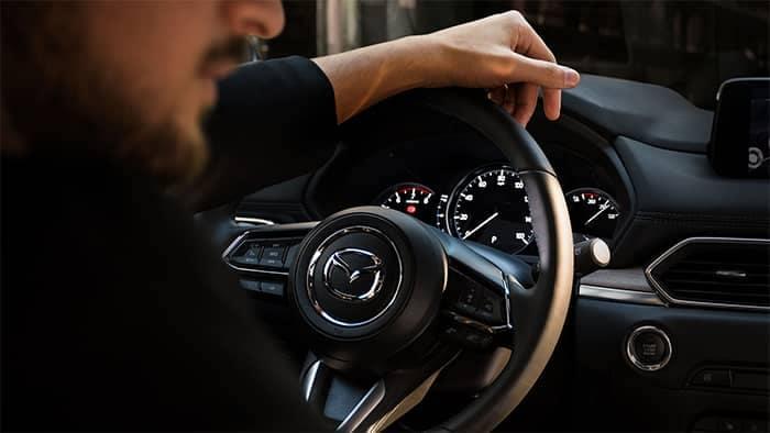 Man Driving a 2019 Mazda CX-5