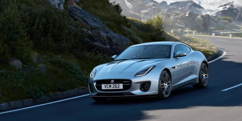 2019 Jaguar F-TYPE AWD Coupe