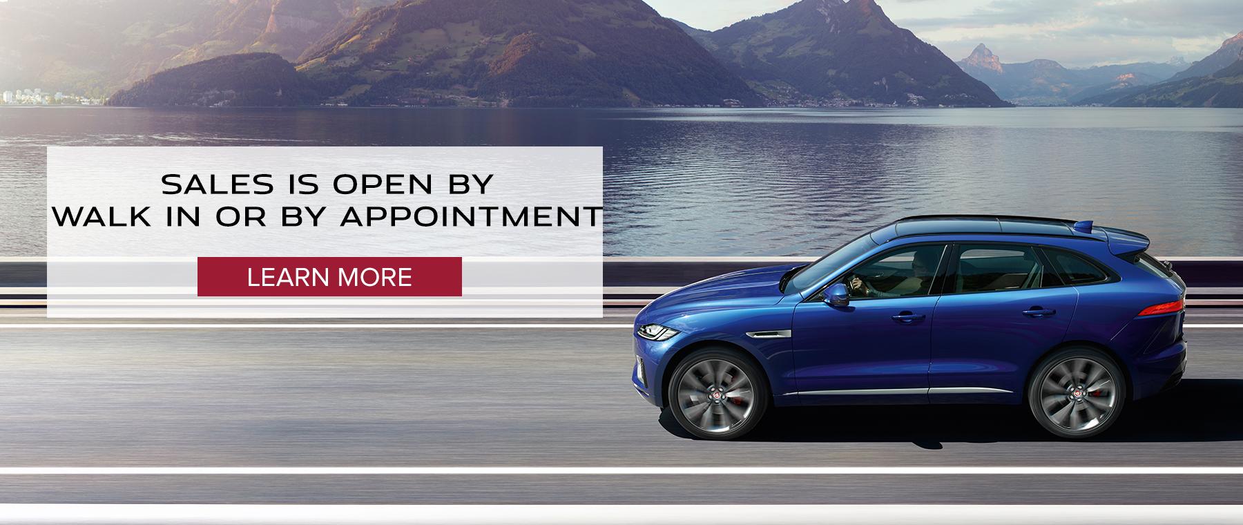 Jaguar Sales Slide