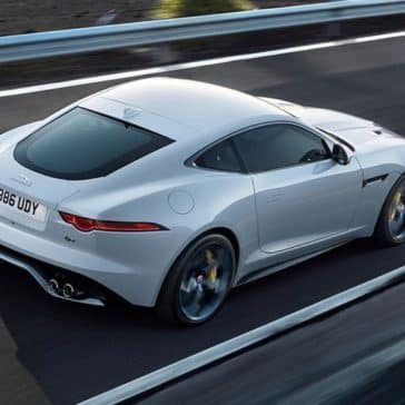 2019 jaguar f type r in yulong white with optional features fitted