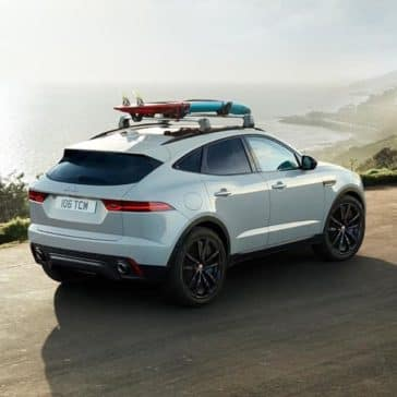 2019 Jaguar E-PACE cargo on top