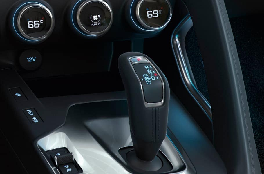 2019 Jaguar E-PACE controls