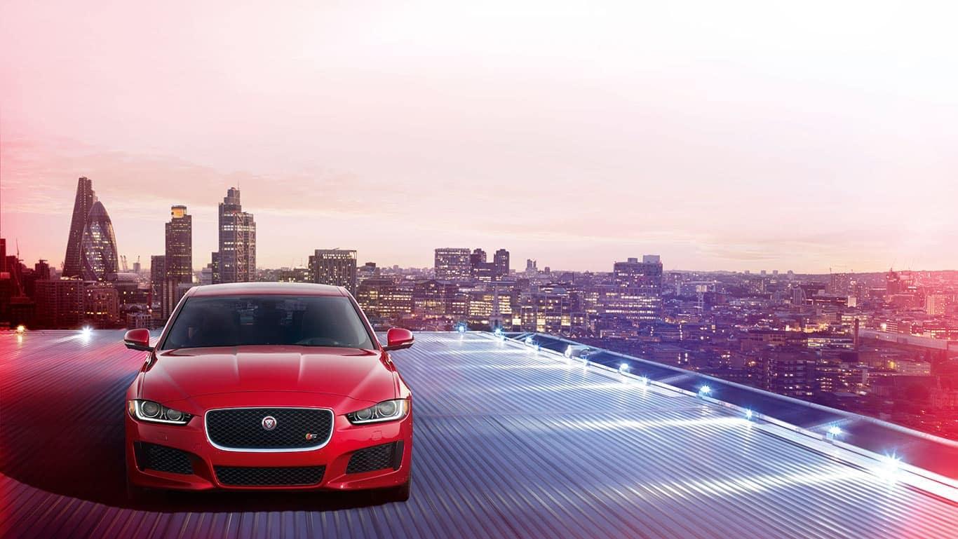 2019 Jaguar XE front view