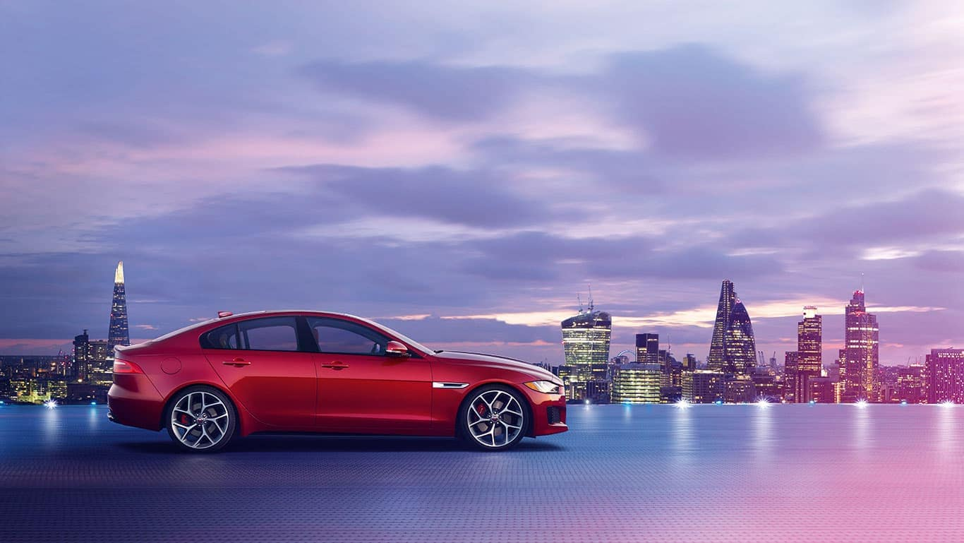 2019 Jaguar XE profile view