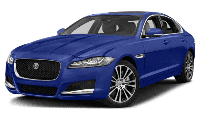 Jaguar XF Side View
