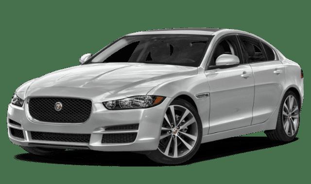 White Jaguar XE