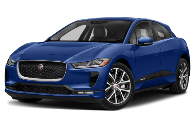 Blue Jaguar I-PACE