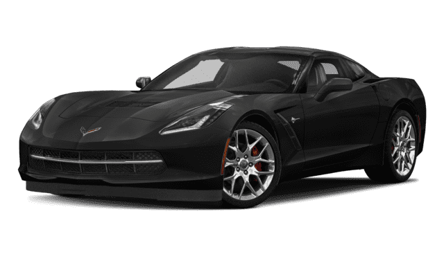 Black 2019 Chevy Corvette
