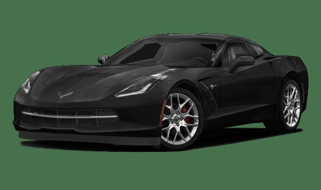 Black 2019 Chevy Corvette
