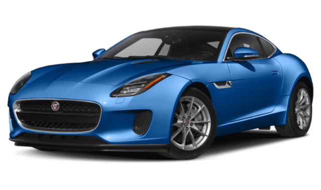 Blue 2020 Jaguar F-TYPE
