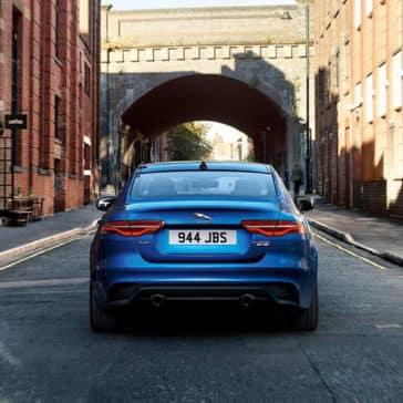 2020 Jaguar XE Rear