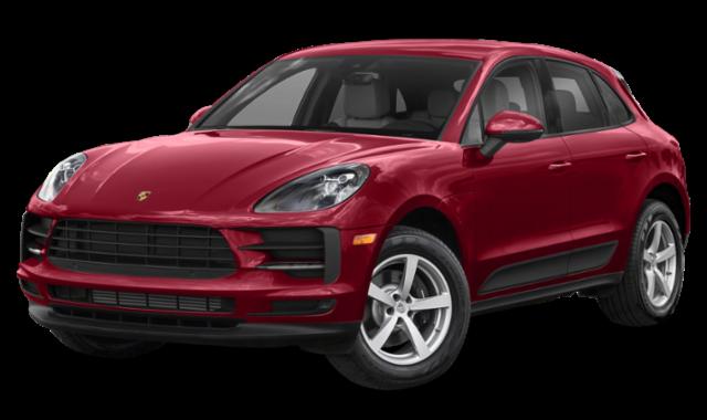 Red 2019 Porsche Macan
