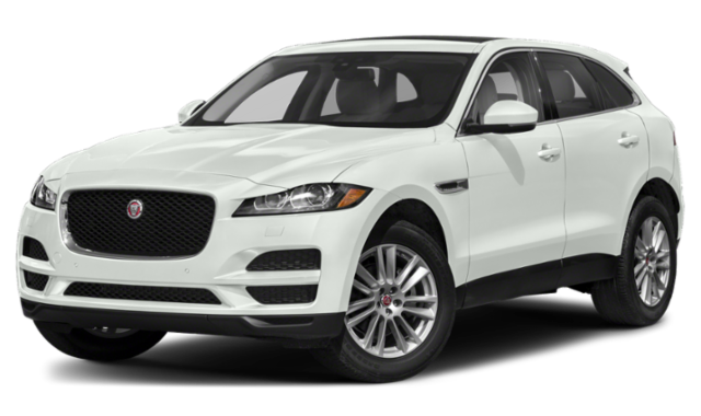 White 2020 Jaguar F-PACE