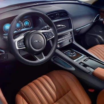 2020 Jaguar F-Pace Dash