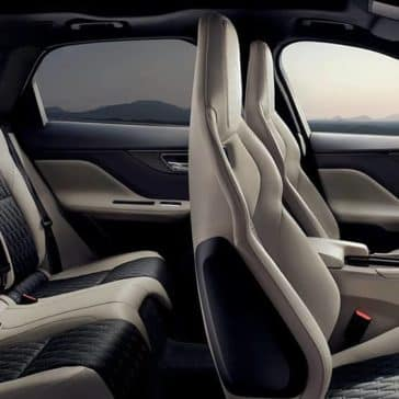 2020 Jaguar F-Pace Seating