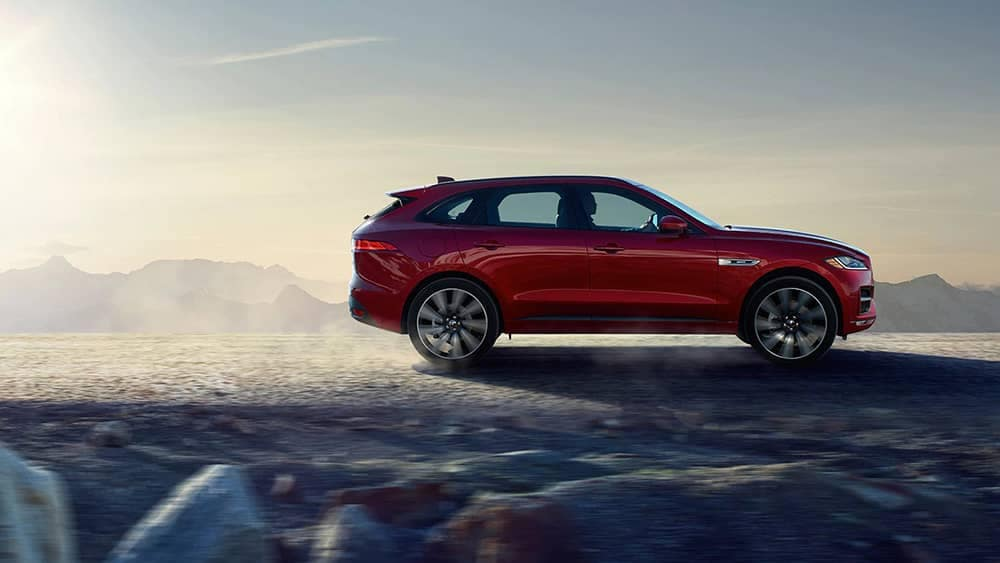 2020 Jaguar F-Pace Side View