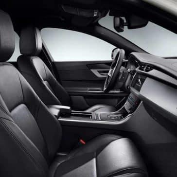 2020 Jaguar XF Cabin