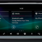 Jaguar smartphone interface and touchscreen