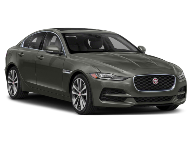 Dark gray 2020 Jaguar XE