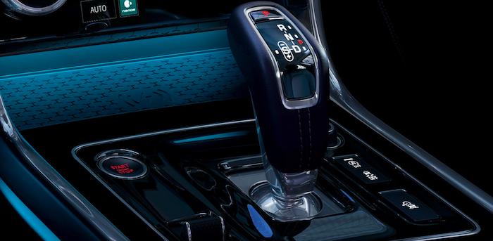 Jaguar XE gear shift