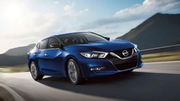 2019 Nissan Maxima on highway