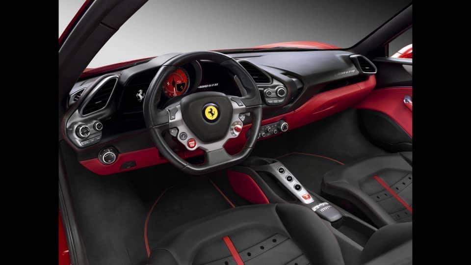 488 GTB Interior